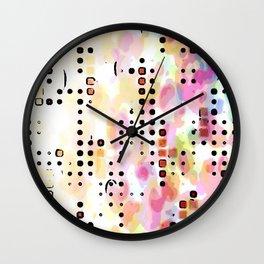Dreamin' Amoebas Wall Clock