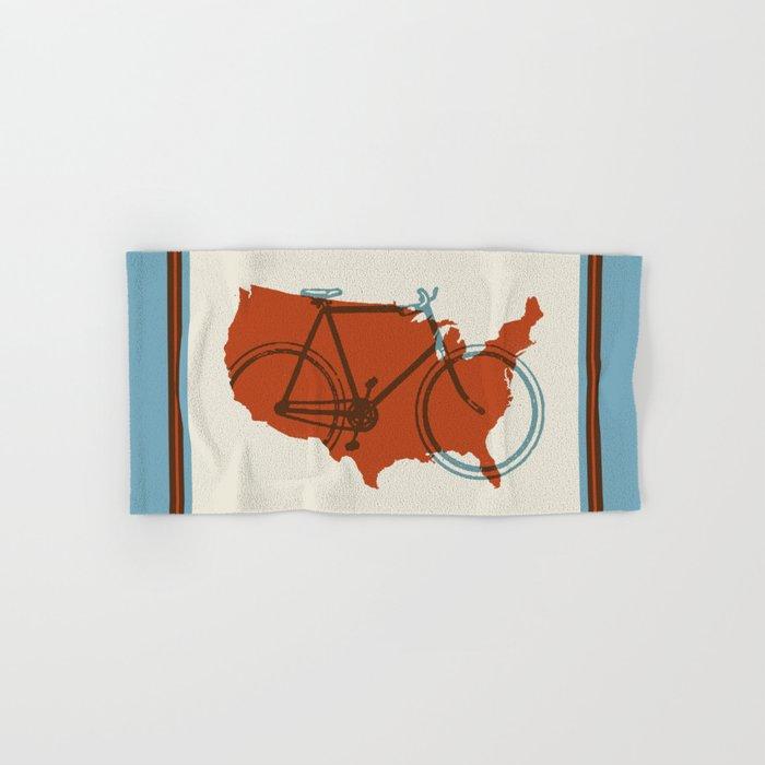 Bike America Hand & Bath Towel