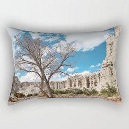 plaza blanca Rectangular Pillow