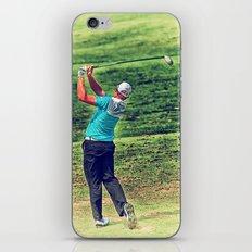 The Golf Swing iPhone & iPod Skin