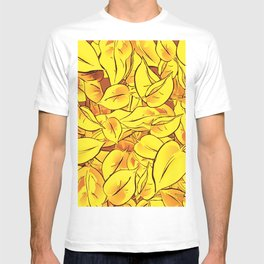 Yellow Leaves - Ver 1 (you can create set with Yellow Leaves Ver 2) T-shirt