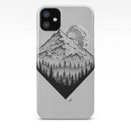 Mountain moonshine iPhone Case