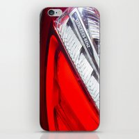 mercedes iPhone & iPod Skins featuring Mercedes-Benz SL 63 AMG Bi-Turbo Back Light by Mauricio Santana