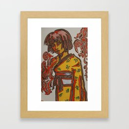Atsu Natsu Framed Art Print