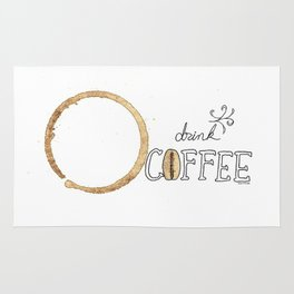 Drink Coffee Rug