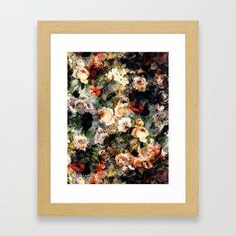Floral Pattern RPE120 Framed Art Print