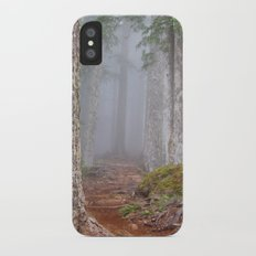 Foggy Forest iPhone X Slim Case