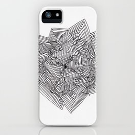 Hard Repeat iPhone Case