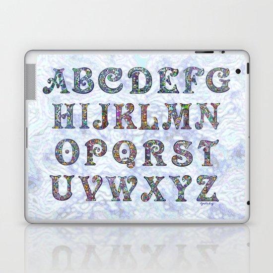 The Alphabet Laptop & iPad Skin