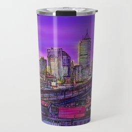 Boston blinding lights Travel Mug