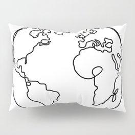 The World in Love Pillow Sham