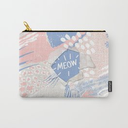 meow (wild cats)  Carry-All Pouch