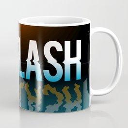 Hot Flash - Black Background Coffee Mug