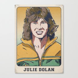 Julie Dolan Matildas Canvas Print