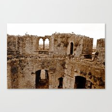 Castle Walls Canvas Print