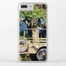 Military Jeep Clear iPhone Case