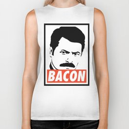 Swanson bacon Biker Tank