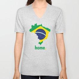 Brazil Proud Unisex V-Neck