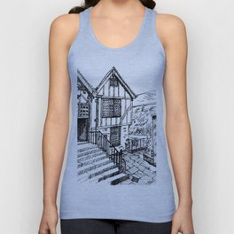 Traditional House in York, England Unisex Tank Top