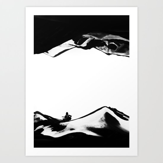 Song of isolation Art Print