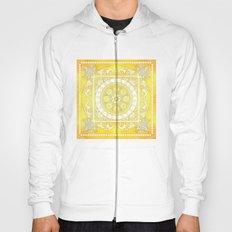 Golden Henna Mandala Hoody