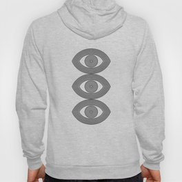 Abstraction_EYE_LINE_POP_ART_Minimalism_001X Hoody