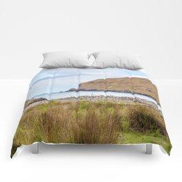 Flea Bay, Akaroa, New Zealand Comforters