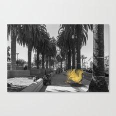 Unseen Monsters of San Francisco - Skimareedinks Blinko Canvas Print
