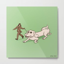 Neverending Dog Show Metal Print