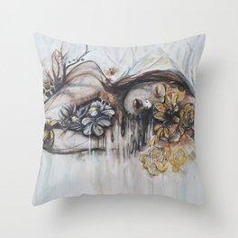 Abeille (bee) Throw Pillow