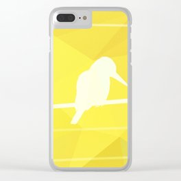 Still Lost in Thought Clear iPhone Case