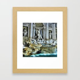 Rome, Italy - Trevi Fountain Framed Art Print
