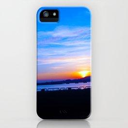 Macau Sunset iPhone Case