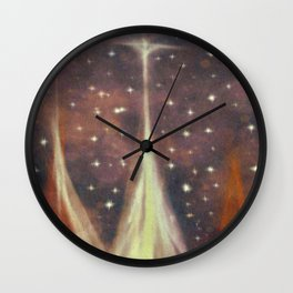 From dreams and wishes. Everything must be equal in your eyes. Wall Clock