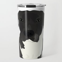Atticus the Pit Bull Travel Mug