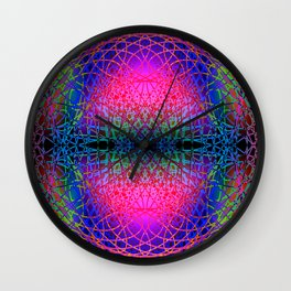 Chaotic hippie Wall Clock