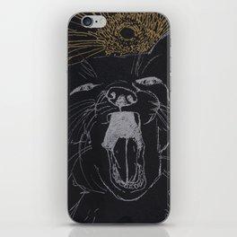 silver fox iPhone Skin