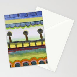The Seaside Promenade Stationery Cards