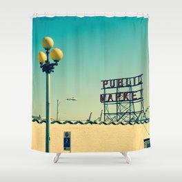 wider public... Shower Curtain