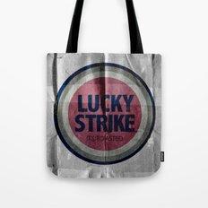 Vintage Lucky Strike Carton Tote Bag