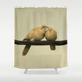 loving doves Shower Curtain