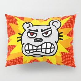 Angry bear Pillow Sham