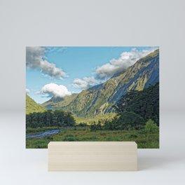 Monkey Creek, New Zealand Landscape Mini Art Print