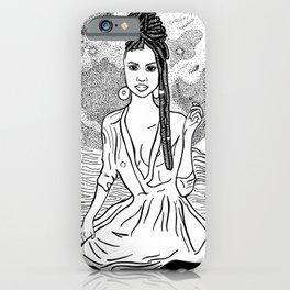 Goddess of Modern Times iPhone Case