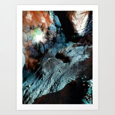 Uranium Beach Art Print