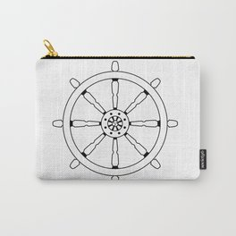 Dharma Wheel Carry-All Pouch