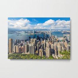 HONG KONG 01 Metal Print