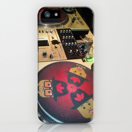 DJ DOPENESS iPhone Case