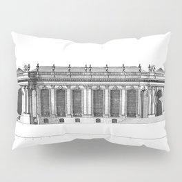 Palais de Bourbon in Paris 1752 Pillow Sham