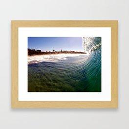 California Dreaming - Encinitas, CA Framed Art Print
